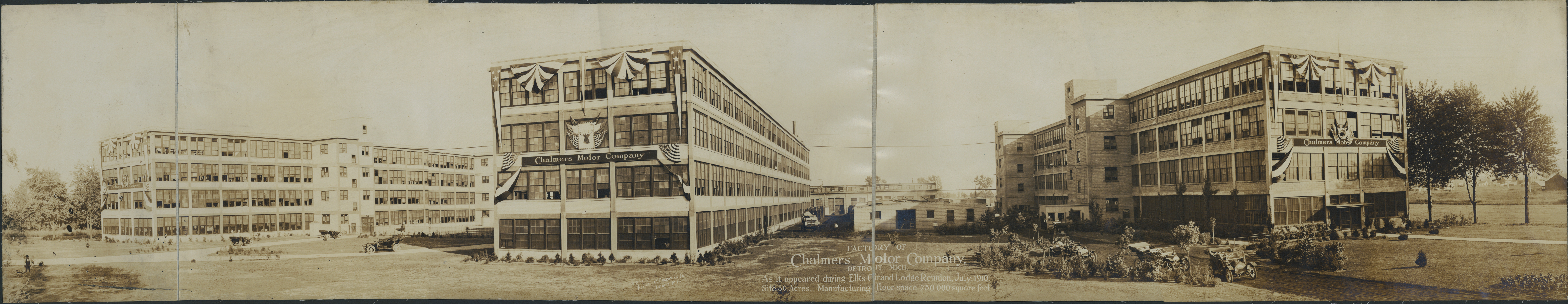 Chalmers Motor Company factory