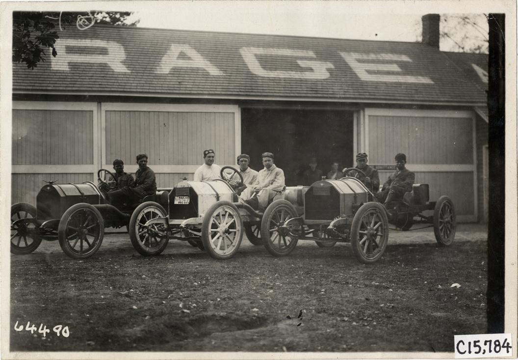 Race Car /& Driver Vanderbilt Cup Photo 1910s