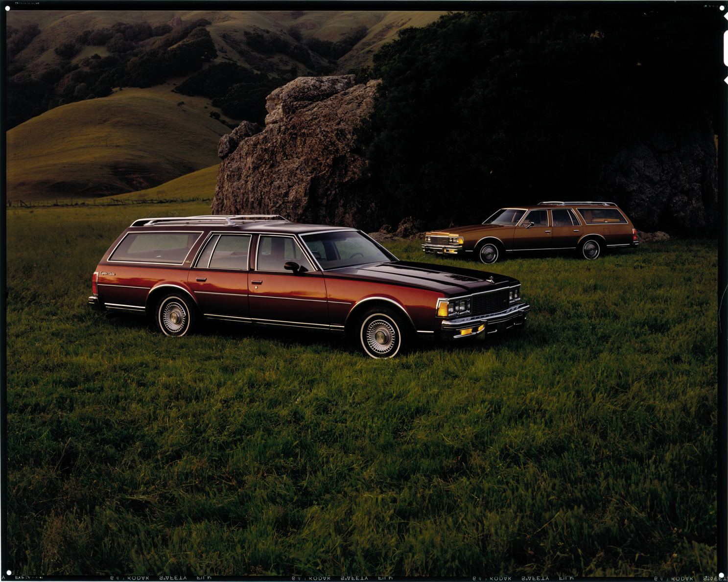1985 chevrolet caprice classic station wagons dpl dams detroit public library digital collections