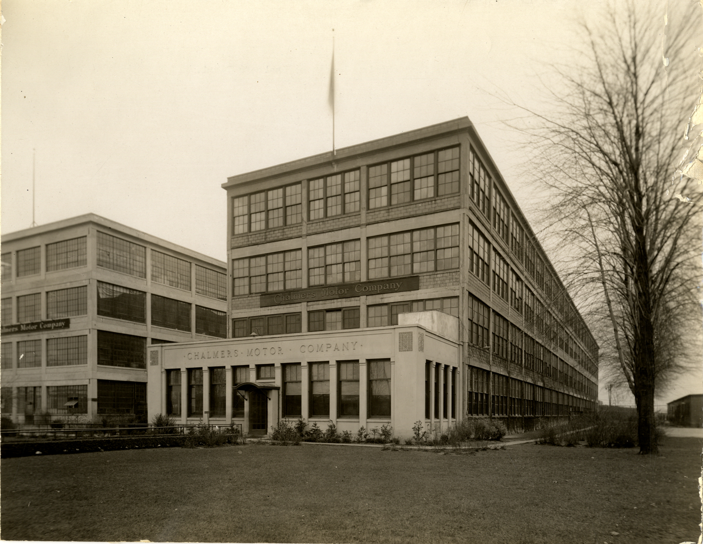 Main office building, Chalmers Motor Company factory