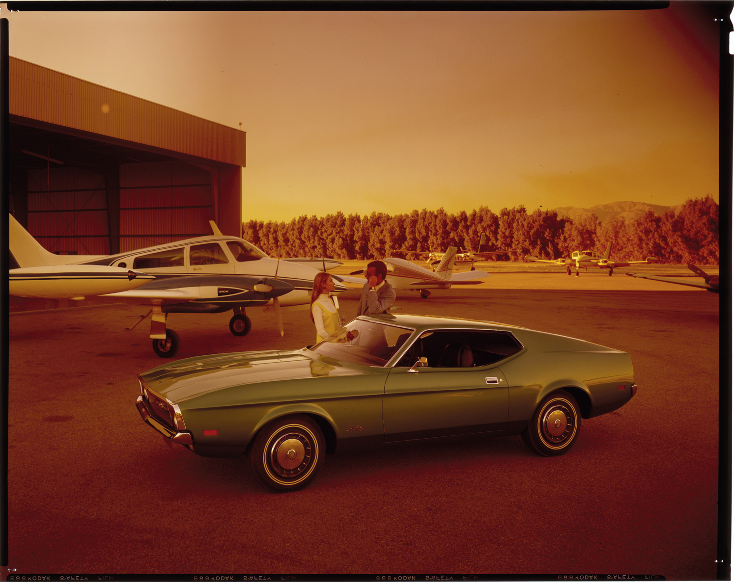 1971 Ford Mustang Automobile Dpl Dams Coupe