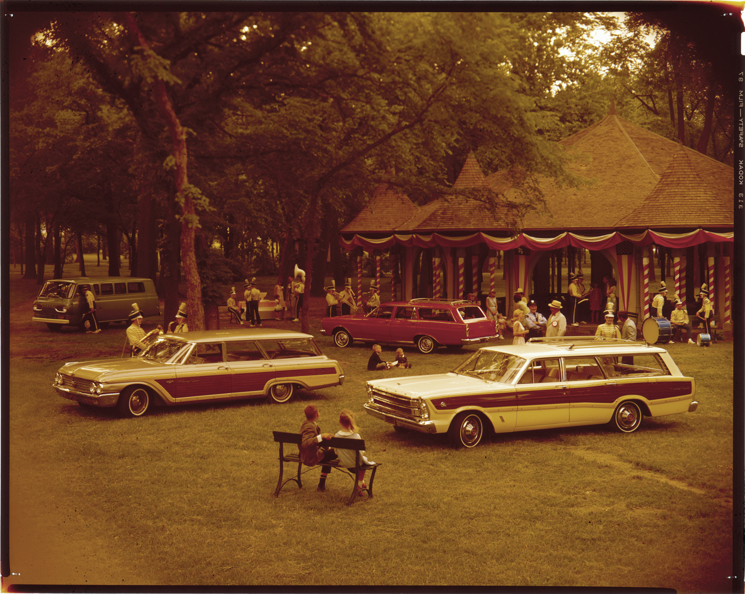 1966 Ford Fairlane station wagons   DPL DAMS