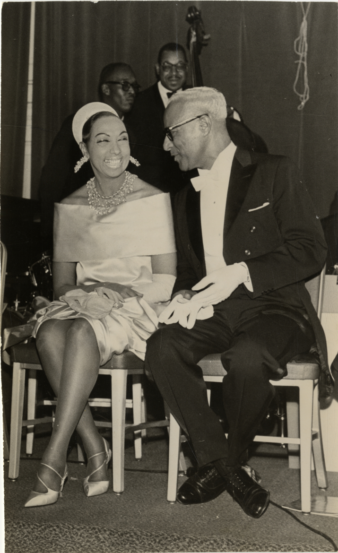 Josephine Baker And Harold Jackman At Beaux Arts Ball
